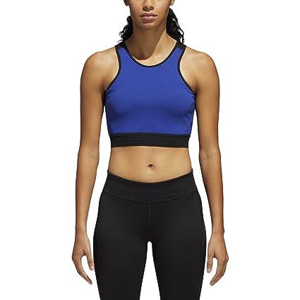 cca6514abc90 Amazon.com  adidas Womens Training Crop Top Bra  Sports   Outdoors