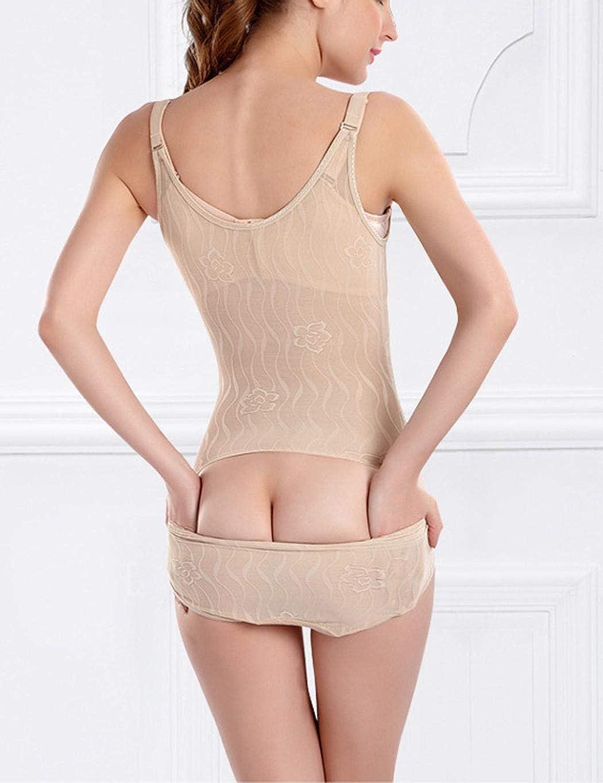 Youandmes Waist Slimming Siamese Shapewear Back Take Off Shaper Bodysuits