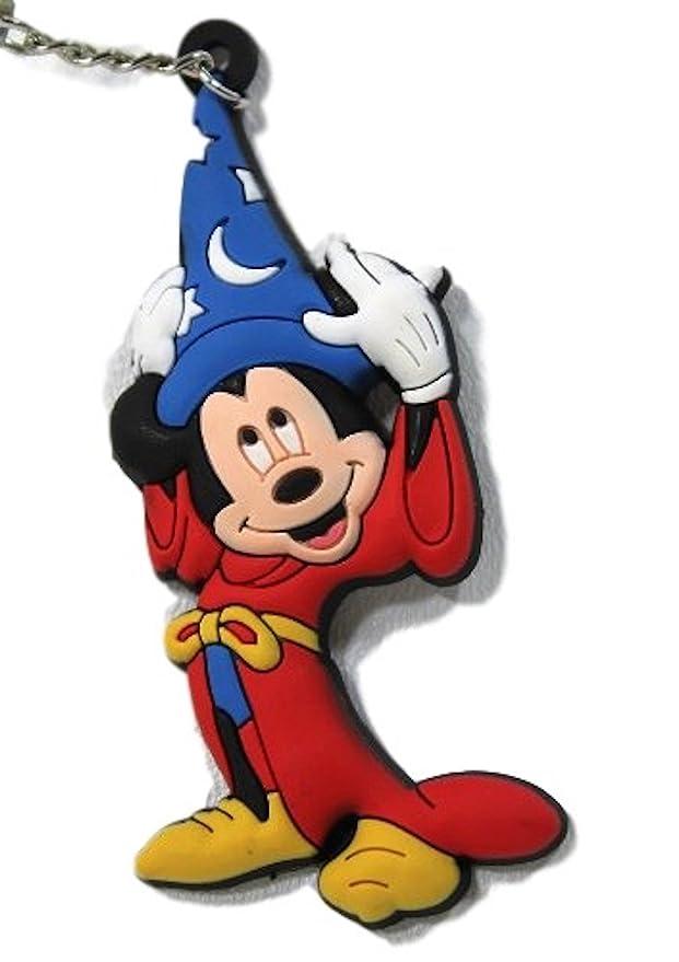 Amazon.com: Disney Parks Sorcerer Mickey Mouse llavero de ...