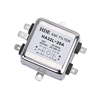 Power EMI Filter HA32L-20A 50//60Hz AC 250V 20A Power Line Filter
