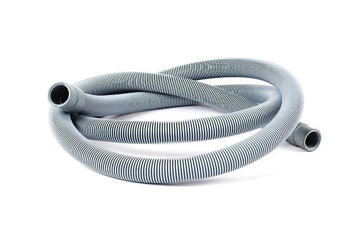 DREHFLEX – Tubo de desagüe para lavadoras y/o lavavajillas, longitud 3,5 m