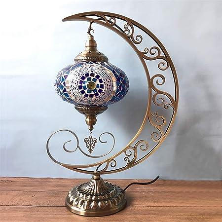 LJJOZ Lámpara de Mesa Lámpara de Escritorio Lámpara de Mesa turca ...