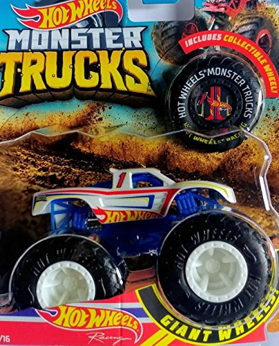 Hot Wheels 2018 RELEASE MONSTER JAM RACING MONSTER TRUCK DIE-CAST WITH COLLECTIBLE WHEEL TOKEN - 64 Hot Wheels Racing