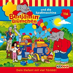 Benjamin und die Spaßmaschine (Benjamin Blümchen 116)
