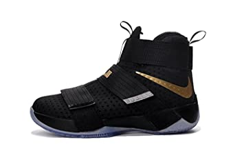 188fcd5e14b Buy Pluralgirl Men s Lebron Soldier 10 EP Basketball Shoes Online at ...