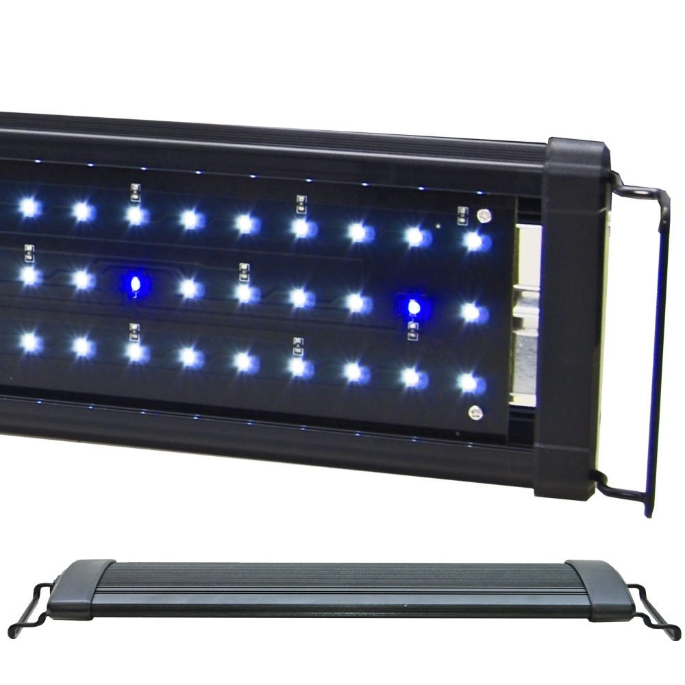 BeamsWork EA 120 Timer 0.50W 48'' LED Aquarium Light White Blue by BeamsWork