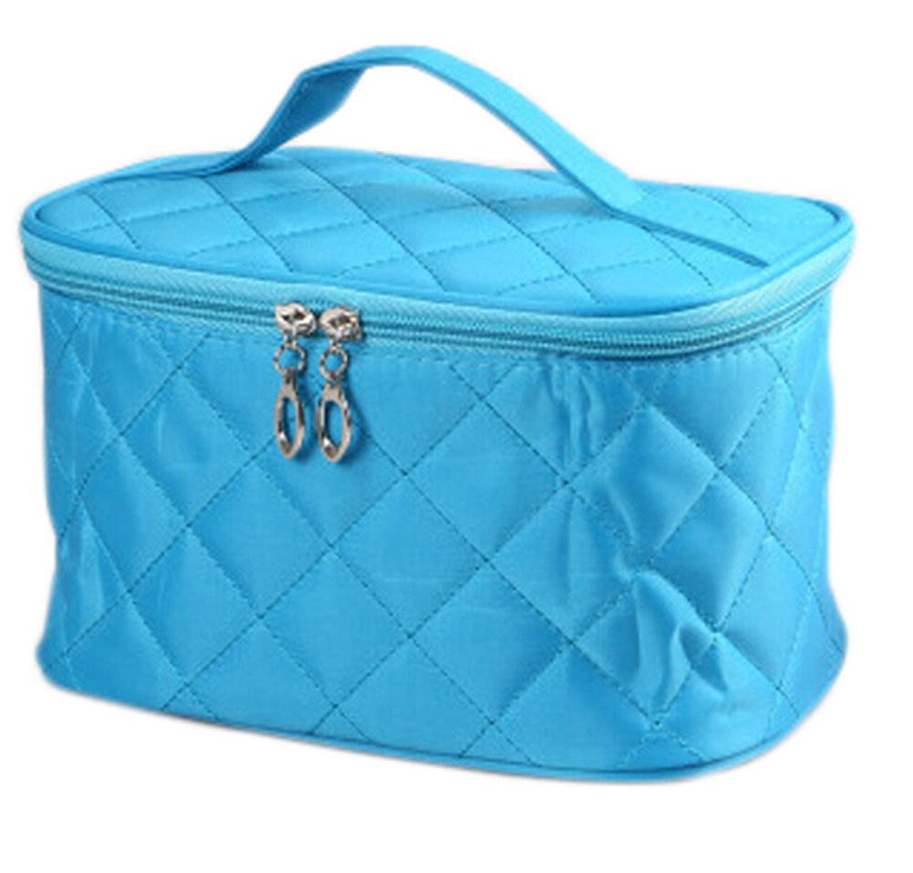 Hosaire Cosmetic Bag - Multifunction Portable Travel Makeup Organizer Bag Cosmetic Case Toiletry Bag Blue