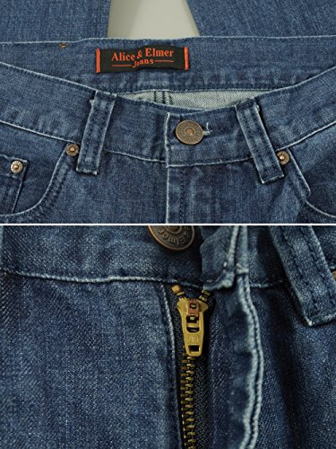 Fit Jeans amp; Wash Slim jeans Light Straight Uomo Elmer Alice qgwzEdwX