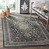 "Cheap Safavieh Lyndhurst Collection LNH338A Teal and Grey Area Rug, 8'11"" x 12′"