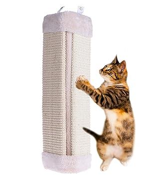 yunt gato rascador de sisal esquina pared alfombrilla, duradera Sisal Made arañazos Junta, 9.05