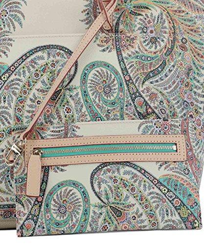 Etro Borsa Shopping Donna 1G61922818000 Pelle Beige