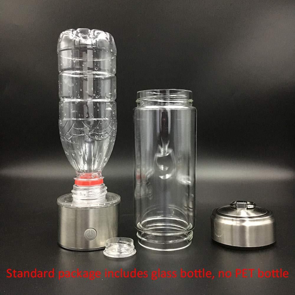 UTNF SPE Pem-Membran Wasserstoffreiche Wasserflasche Titan-Ionisator-Wasserstoff-Generator-Wasser-Hersteller Abnehmbare Kappe Für Pet-Flasche