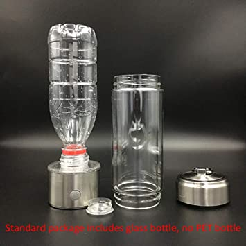 UTNF Membrana SPE Pem Botella De Agua Rica En Hidrógeno Ionizador De Titanio Generador De Hidrógeno