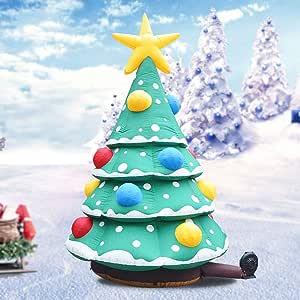 HUWAI Árbol de Navidad Inflable Papá Noel Rudolph Reno Temporada ...