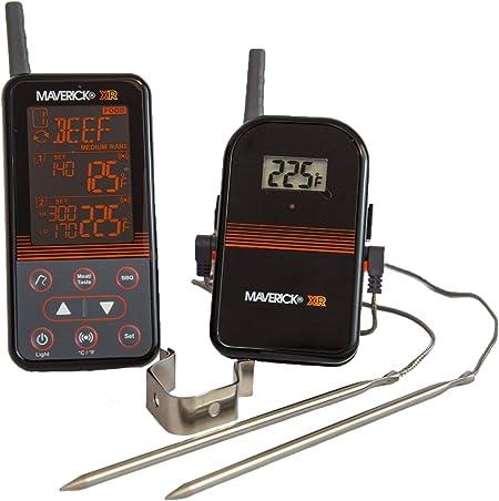 Maverick ET-732 Wireless Barbecue Funk-Thermometer Set schwarz