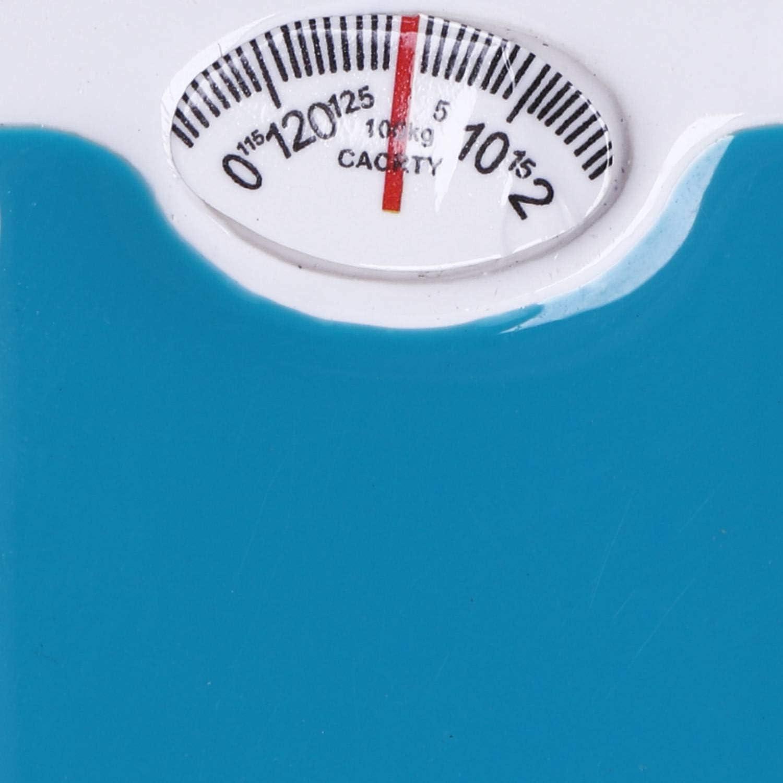 Gaetooely Escala 1:12 Miniatura Pesa Escala Casa de Mu?Ecas Accesorios Azul
