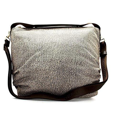 Borbonese Classico marrone 30x28 A X w Donna L Marrone Borsa Bag 5x12 Hobo H Cm op Spalla rwqYaZrT