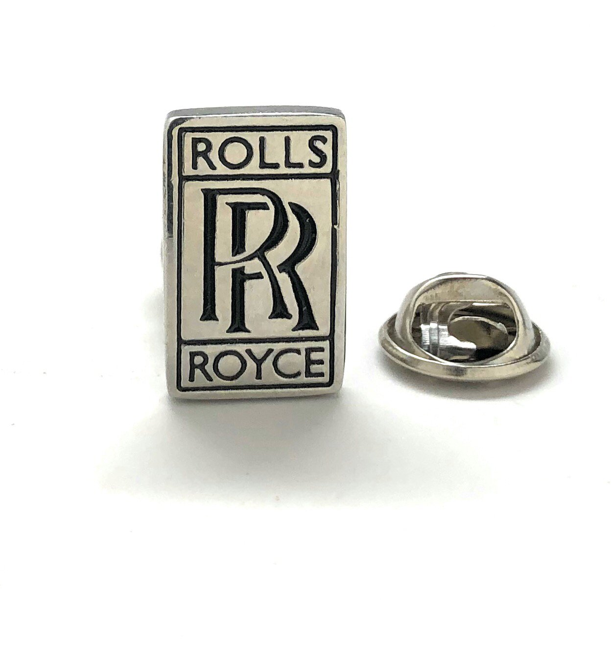 Williams and Clark Men's Executive Lapel Pin Rolls Royce Logo Automobile Famous Car Lapel Pin Tie Tac