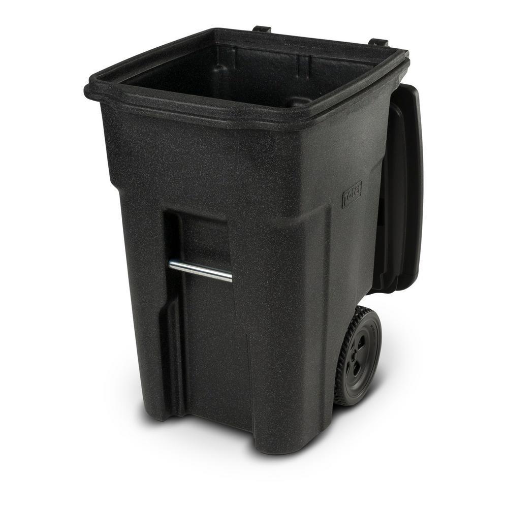 Toter 48 Gal. Wheeled Blackstone Trash Can