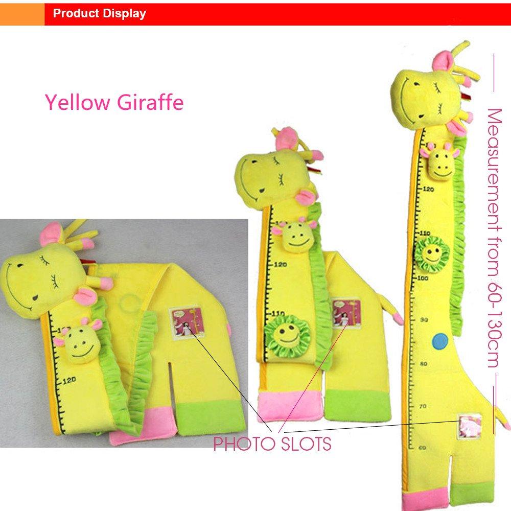Amazon.com : Kris&Ken Plush Giraffe Growth Height Chart Hanging ...