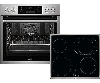 AEG HB3013MI12 - Juego de cocina con placa de inducción ...