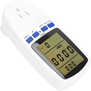 Electrical Meter Sockets, 0.5W Portable Electricity Usage Monitor for Home for Electricity Monitor(110)