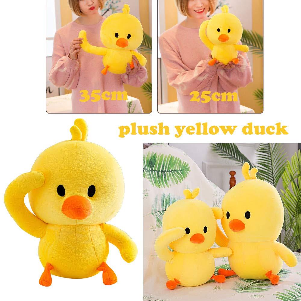 ea57ea4f249 Amazon.com   Unpara Cute Little Duck Plush Toy Funny Soft Stuffed Dolls  Kids Toys Xmas Gift (Small)   Electronics