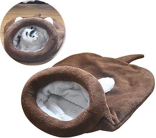 Toruiwa. Cama para Gatos, Cesta para Gatos, Bolsa de Dormir para Gato.: Amazon.es: Productos para mascotas