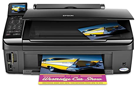 Amazon.com: Epson Stylus NX510 Wireless Color Inkjet All-in ...