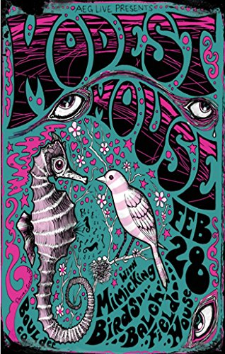Modest Mouse, Mini Poster 11 x 17 inches
