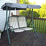 Cheap Garden Winds 2-Seater Swing Replacement Canopy Top Cover