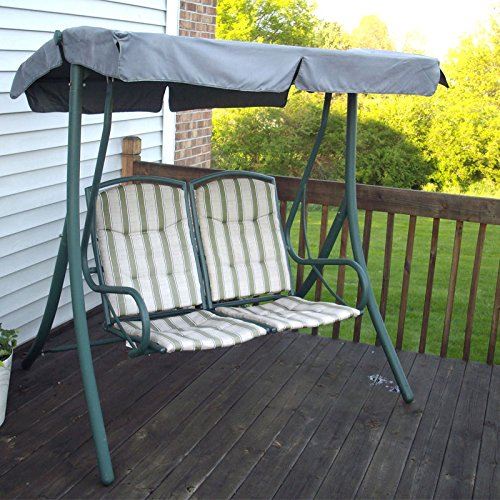 Garden Winds 2-Seater Swing Replacement Canopy Top Cover