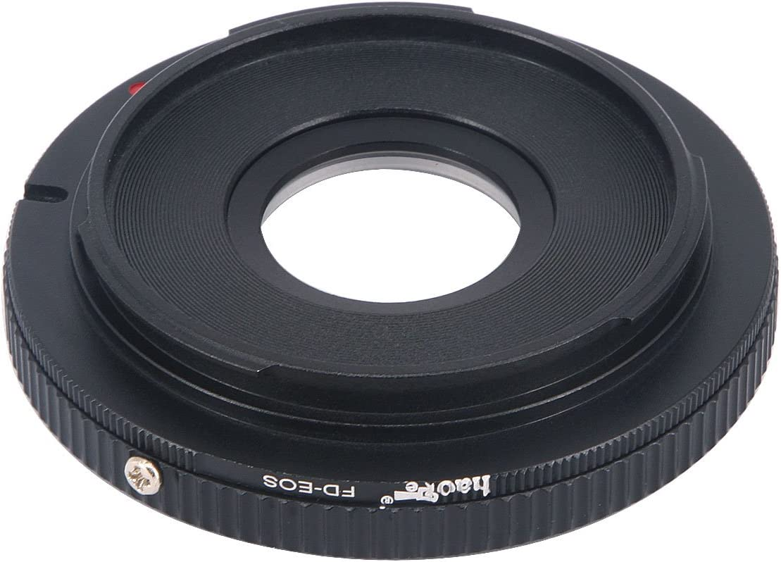 Haoge Manual Lens Mount Adapter with Focusing Correction Glass for ...