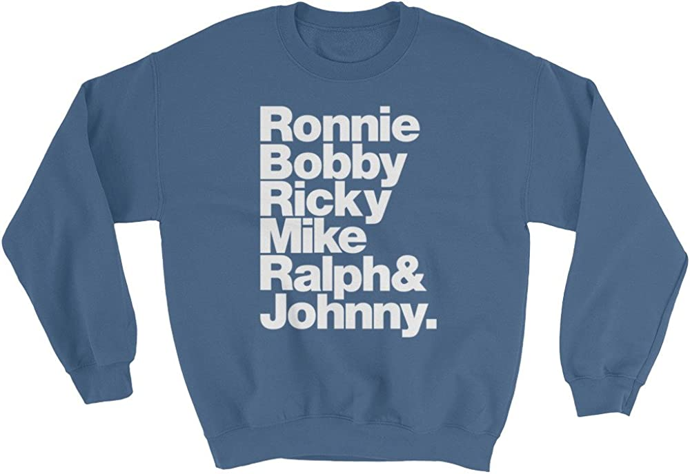 Bobby Mike Ralph Wet Nose Studio New Edition Ronnie and Johnny Sweatshirt Ricky