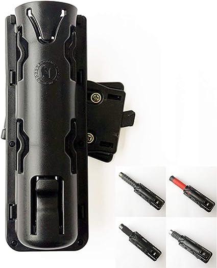 1*Expandable GAS Baton Holder Baton Case Mount Holster 360° Rotation Swivelling