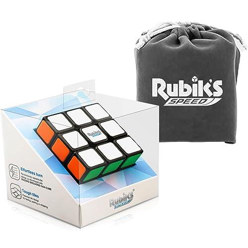 Rubik's Speed Cube Set 3x3 GAN RSC with Rubik's Original Cube Bag and Bonus Cube Stand
