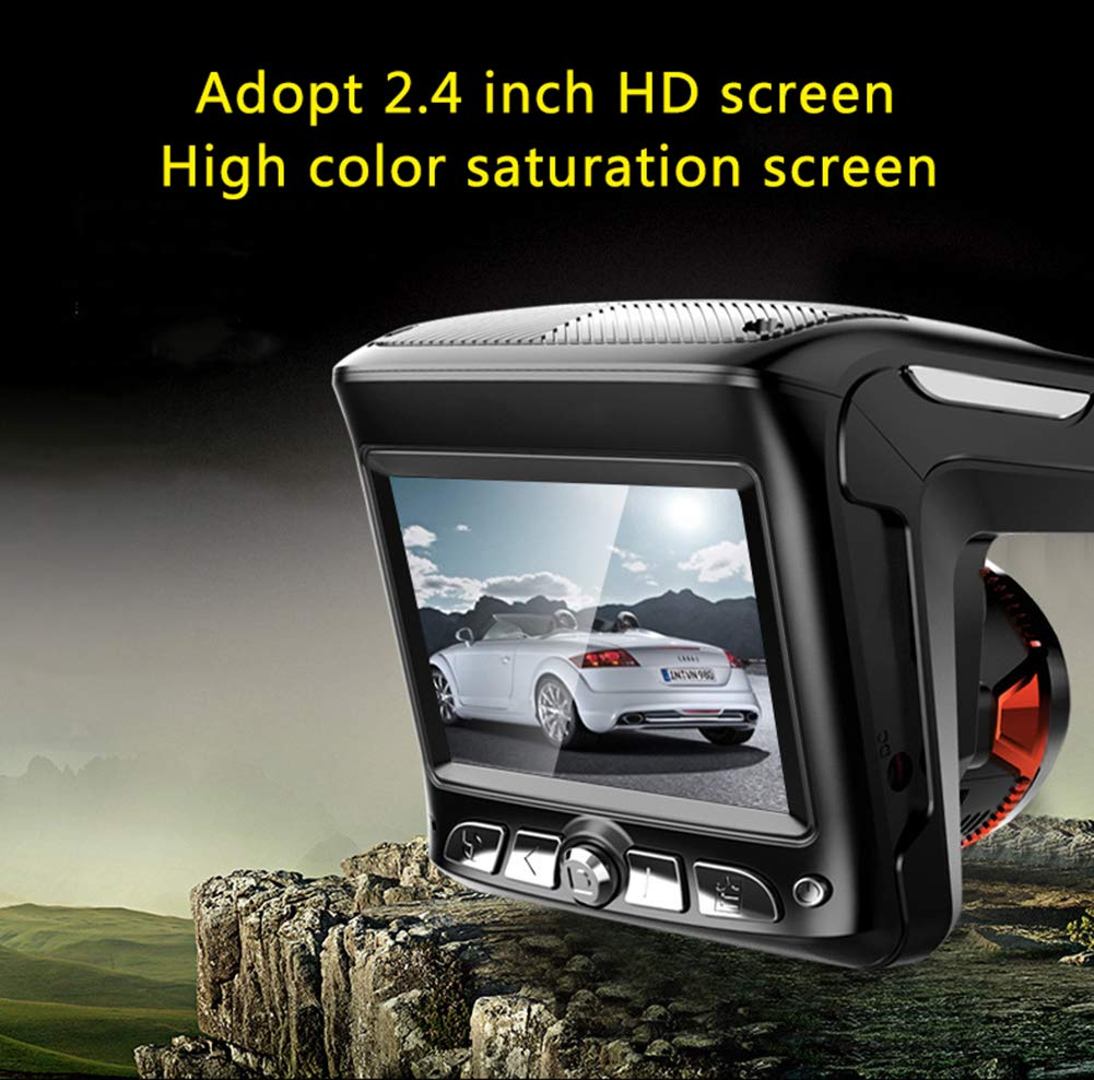 ZYWX-Three-in-One-Line-Car-Recorder-HD-1080P24-Inch-Starlight-Night-Vision-Loop-Video-Hidden-Speed-Recorder-Integrated-Machine