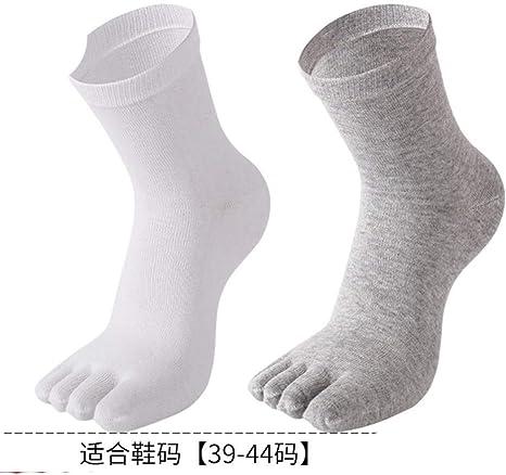 WAZIm Calcetines sin dedos Hombres y mujeres Verano Cinco Dedo ...