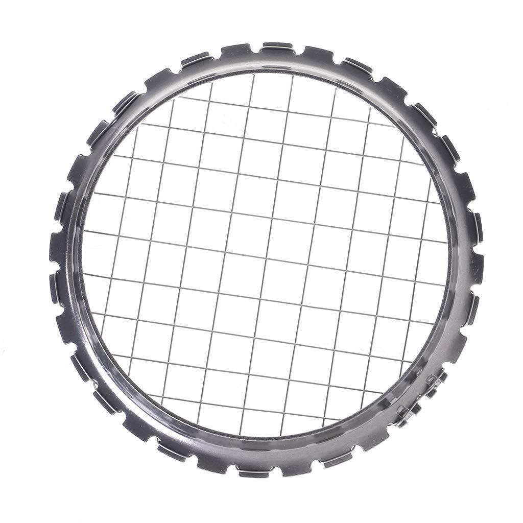 Stainless Steel Mesh Shape Round Manual Potato Masher Slicer Tool Kitchen Supply