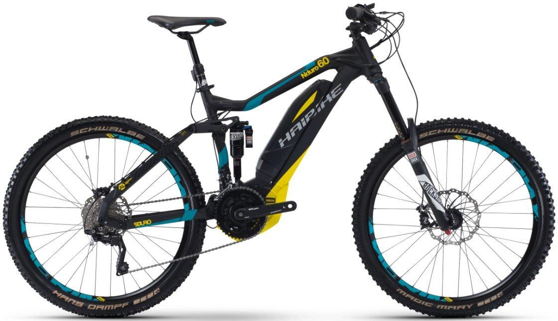 "HAIBIKE Sduro Nduro 6.0 - Bicicleta eléctrica - 27,5"" negro 2017"