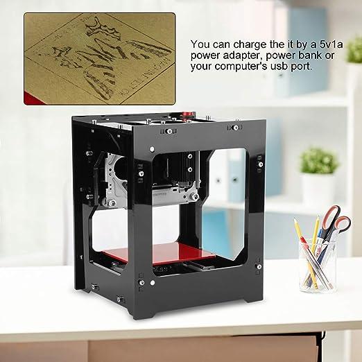 DK-BL Machine de Graver 550x550px Machine /à Imprimer /à Graveur dUSB Bluetooth de Pixel de 1500mW
