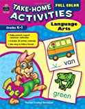 Full Color Take-Home Activities - Language Arts, Anastasia Zarr, 1420621629