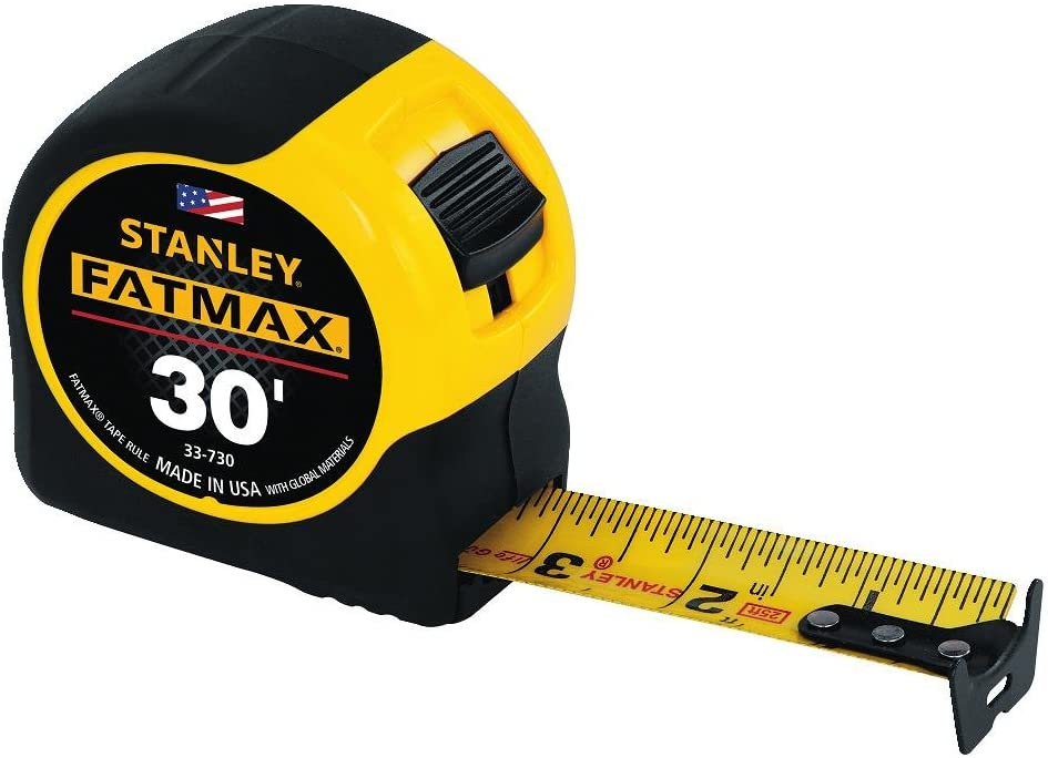 Stanley Tools 30-Foot-by-1-1/4-Inch FatMax Measuring Tape | eDesign Tools for DIY Enthusiasts by Revision Custom Home Design | eDesign Tribe Blog