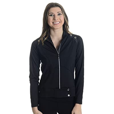 .com : Bollé Women's Ebony & Ivory Jacket, Black, Medium : Clothing