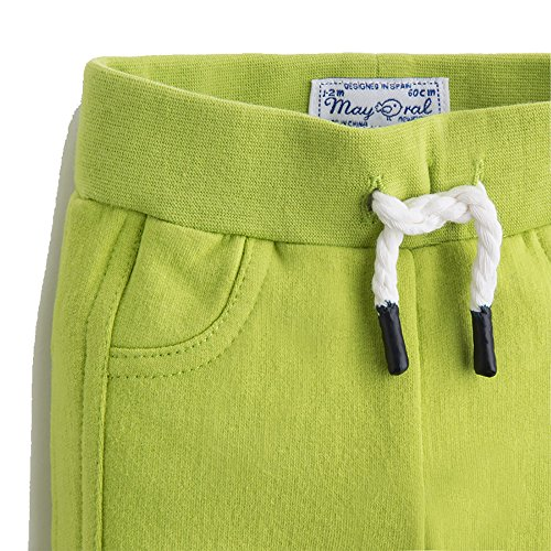 Mayoral Baby Fleece Green Sporty Trousers
