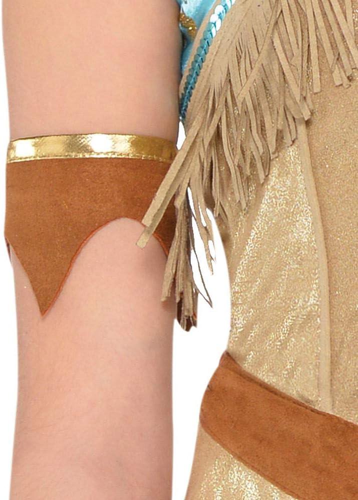 Costumes USA Disfraz de Pocahontas de EE. UU. para niñas, tamaño ...