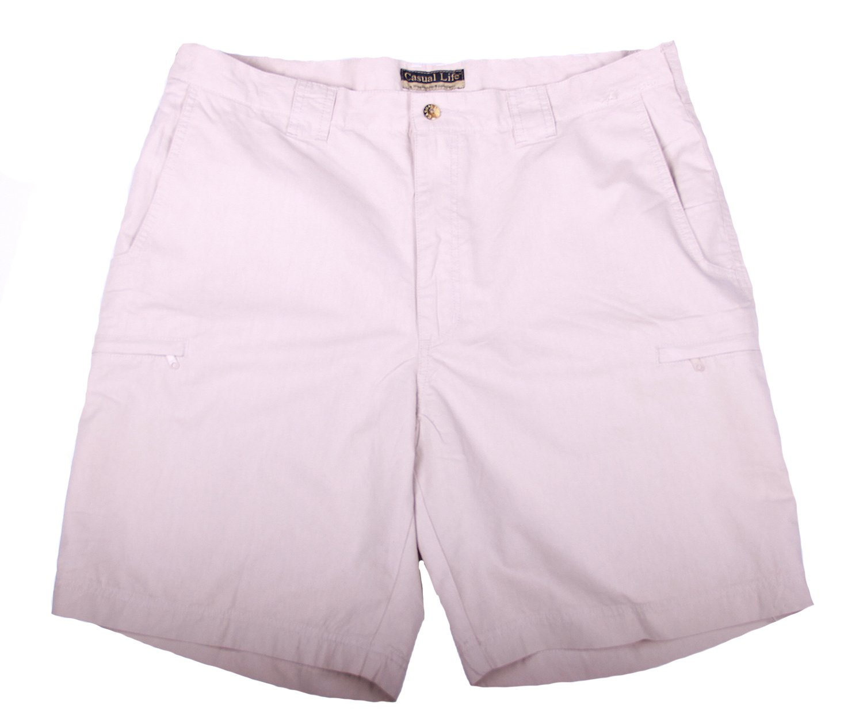 Weekender Casual Life Men's Latitude Shorts (38, Khaki)