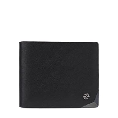 Men's Wallet, Extra Capacity Leather Bifold Wallet Business Stylish