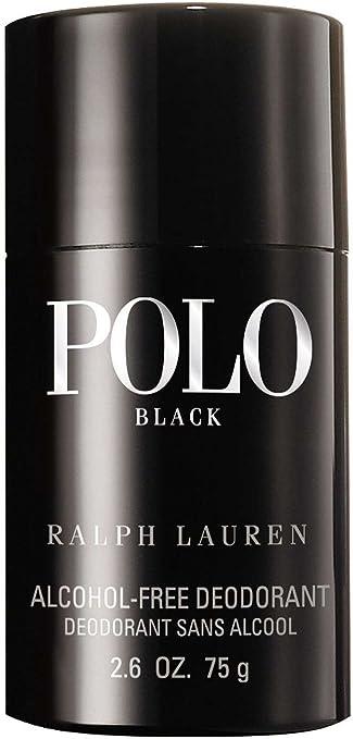 Ralph Lauren Polo Black Stick Desodorante 75 g: Amazon.es: Belleza