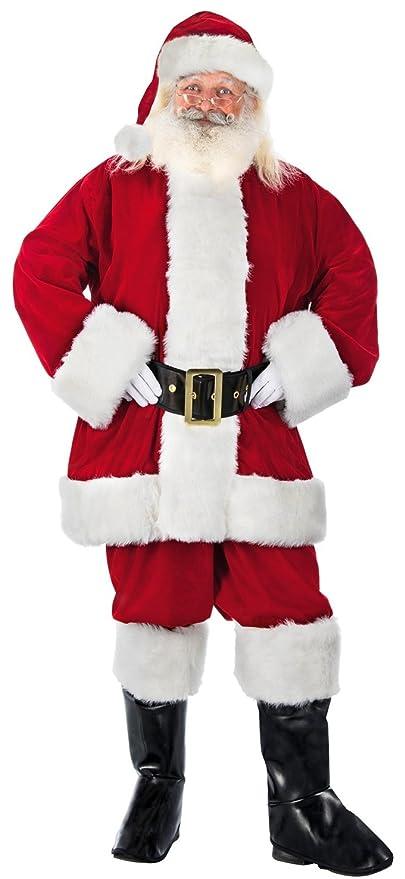 Chaks n1015l, disfraz Papá Noel US, Ultra alta calidad lujo ...